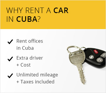 Rent your car in Cuba